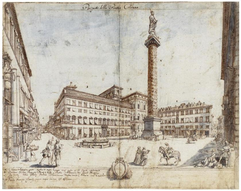 05_lieven_cruyl_-_piazza_colonna__looking_toward_the_chigi_palace_-_1665-14457A96083019FB70F